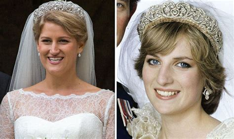 Princess Diana's Niece Sparkles In Her Aunts Tiara On Wedding Day As Meghan Markle Attends