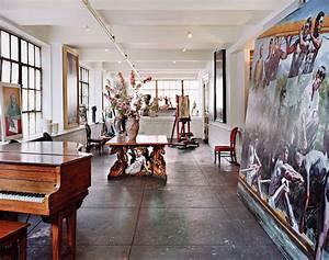 A DIY Artist Loft in Hell's Kitchen - Home Design Spring ...