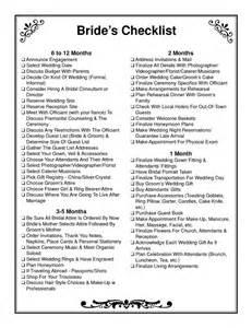 wedding coordinator checklist wedding ceremony checklist brides checklist pdf wedding
