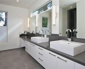 Badezimmer Grau Weiß : wann sollen wir grau im badezimmer haben ~ Markanthonyermac.com Haus und Dekorationen