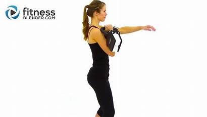 Kettlebell Workout Kettlebells Beginner Kells Routine Blender