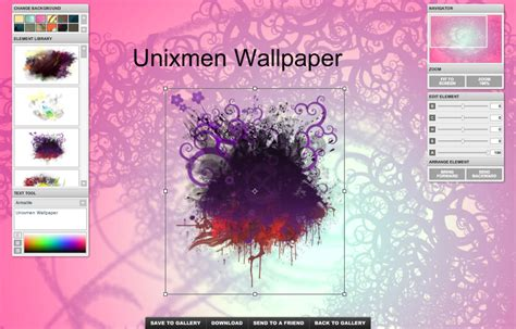 create   desktop wallpaper gallery