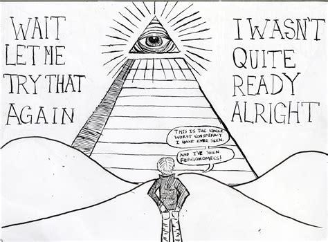 illuminati writing illuminati symbols drawings occult sketch coloring page