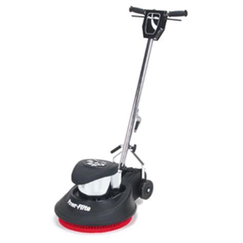Powr Flite 17 Floor Machine by Powr Flite 17 Inch 1 5 Hp 175 Rpm Black Max Floor Machine