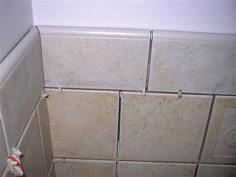 finishing kitchen cabinets ideas shower curb bullnosed on opposite edges bathroom tile