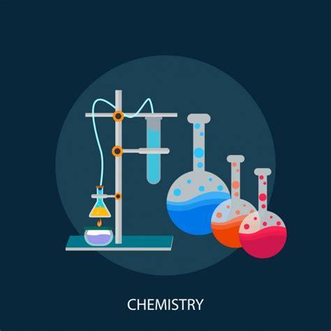 chemistry background design vector
