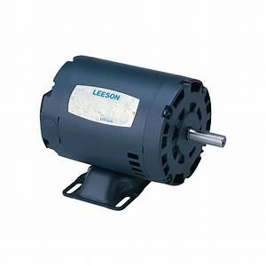Leeson Reversible Electric Motor  U2014 3  4 Hp  1725 Rpm  115