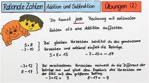 Verhältnis Berechnen 3 Zahlen : rationale zahlen addition und subtraktion mathematik online lernen ~ Themetempest.com Abrechnung