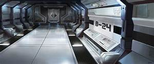 Futuristic Space Station Interior - Pics about space