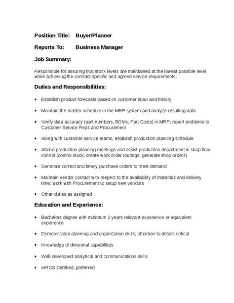 stocker description best resumes