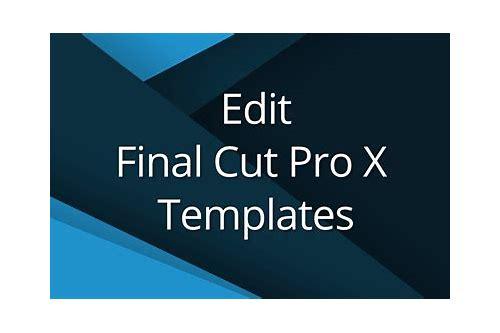 Final cut pro 7 templates free download :: cengunsbipa