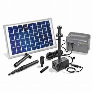 Pompe Bassin Solaire Jardiland : kit pompe solaire bassin napoli led sur jets d 39 eau et quipements de ~ Dallasstarsshop.com Idées de Décoration