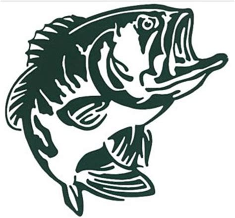Bass Pro Shops Outdoor Action Bass Decal