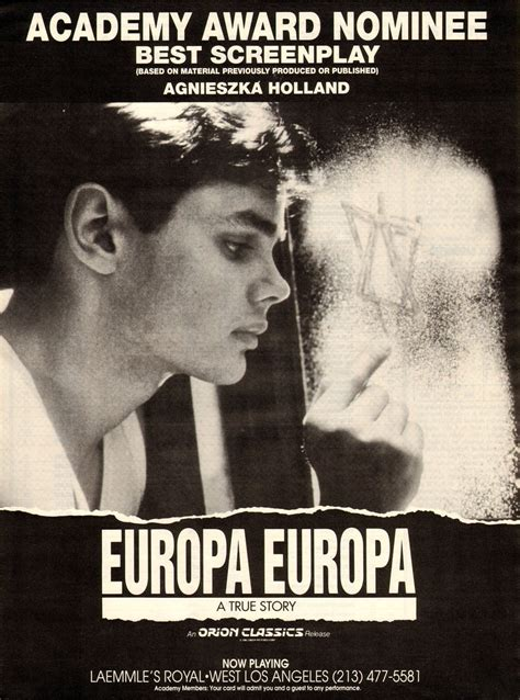 europa europa golden globes