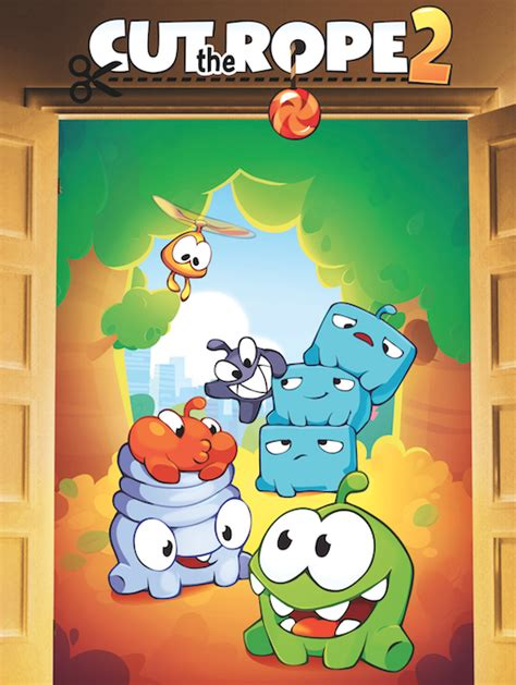 cut the rope 2 gameplay trailer released ahead of december 19th launch