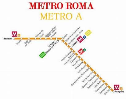 Metro Roma Fermate Della Interrotta Settembre Metropolitana