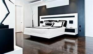 Lit Moderne Design : lit moderne 25 exemples de lits flottants ~ Nature-et-papiers.com Idées de Décoration