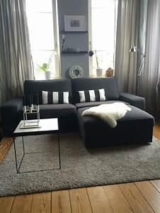Ikea Wohnzimmer Ideen : ikea kivik nachher living room pinterest wohnzimmer wohnzimmer ideen und einrichtung ~ Watch28wear.com Haus und Dekorationen