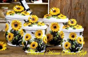 sunflower canister sets kitchen sunflower kitchen theme search kitchen