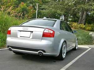 Rear Trunk Spoiler For Audi A4 B6 S4 Votex Type 2001