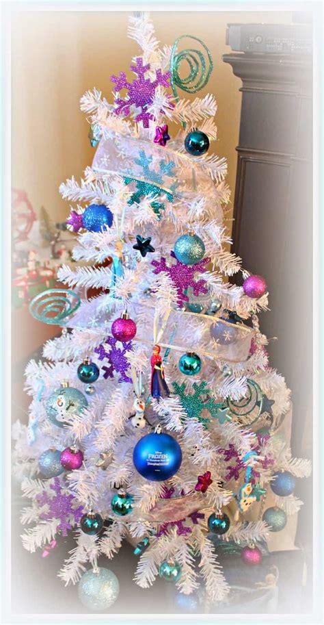 disney themed christmas trees      holiday