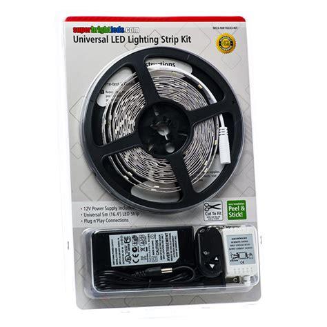 led video light kit universal led lighting strip kit nfls x165x3 kit