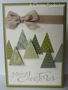 1000 ideas about Easy Christmas Cards on Pinterest