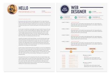 Web Resume Template by 21 Web Designer Resume Templates Indesign Psd Ms Word