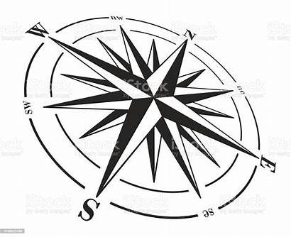 Compass Rose Vector Illustration Graphic Clip Isolated