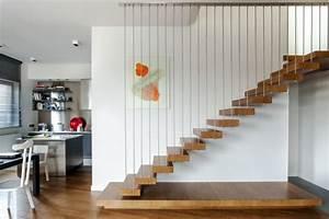 Escalier De Maison Interieur : appartement moderne l int rieur design en pologne ~ Zukunftsfamilie.com Idées de Décoration