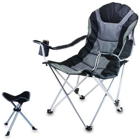 Picnic Time Reclining C Chair With Footrest picnic time reclining c chair with footrest cing