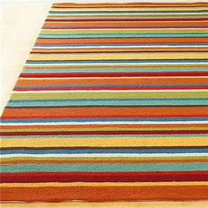 10 Rectangular Striped Rugs For Your Living Room - Cute