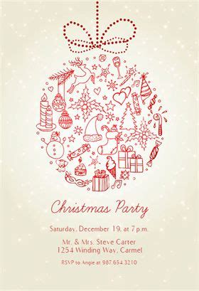 free printable christmas invitations template 1000 images about invitation templates on