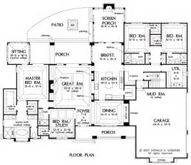 one story house plan conan patenaude one storey house plan