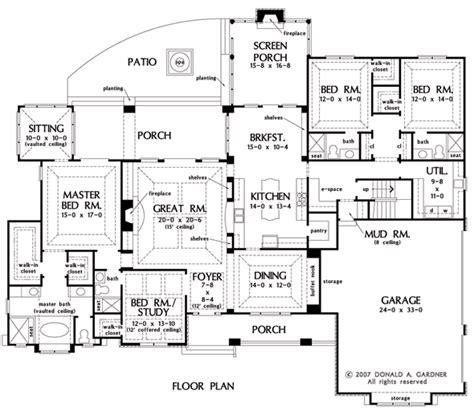 single level home plans conan patenaude one storey house plan