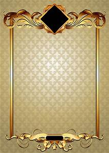 Gold elements vector backgrounds Free vector in ...