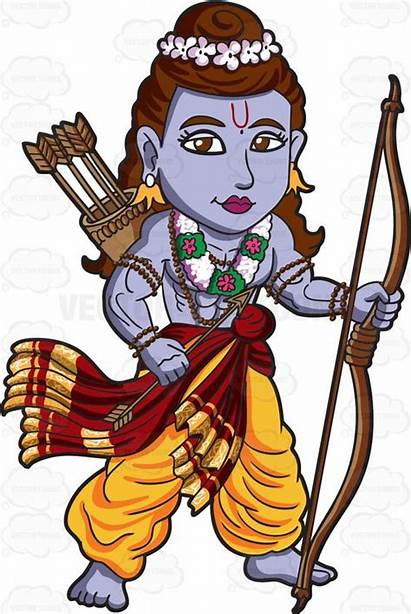Rama Clipart God Hindu Cartoon Ram Clip