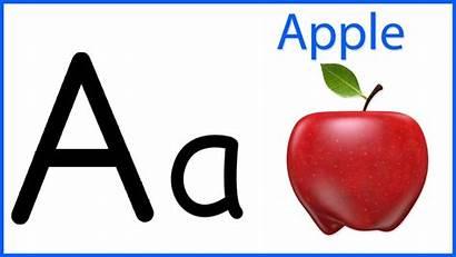 Apple Cartoon Alphabet Song