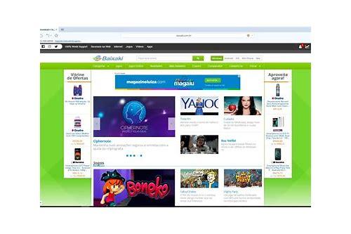 navegador web free baixar grátis cnetr