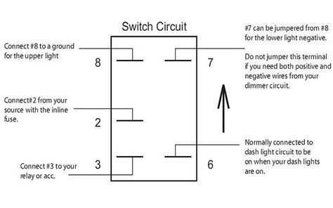 quality assurance momentary carling lighted  terminals  pin rocker switch wiring diagram buy