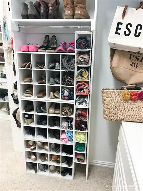 shoe storage custom built in look for less than 100