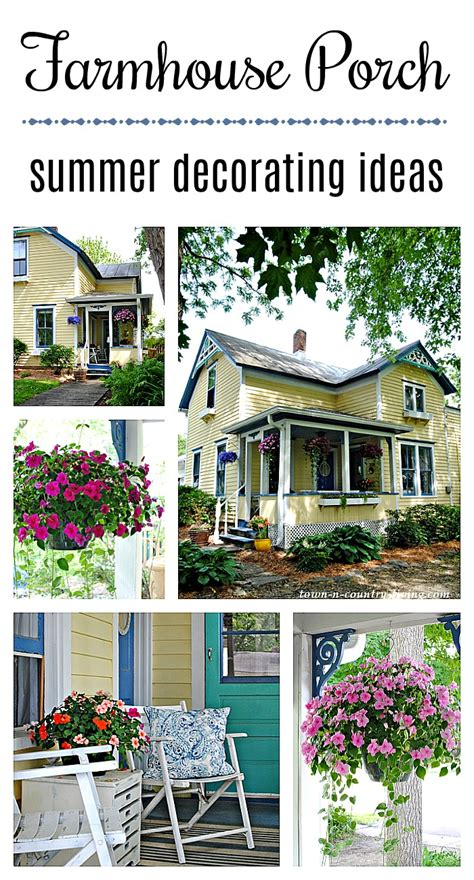 Farmhouse Entry Summer Refresh Town And Country Living
