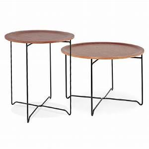 Table D Appoint Canapé : table d 39 appoint bout de canap industriel zack noyer ~ Teatrodelosmanantiales.com Idées de Décoration