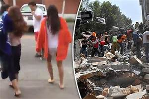 Mexico City hit by another quake as residents flee in ...