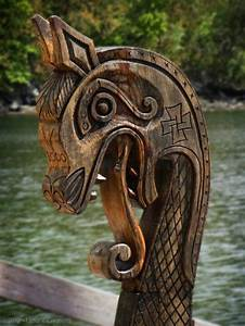 viking longship dragon head - Google Search Wotanstag