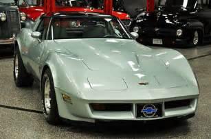 corvette  rare     rare silver green