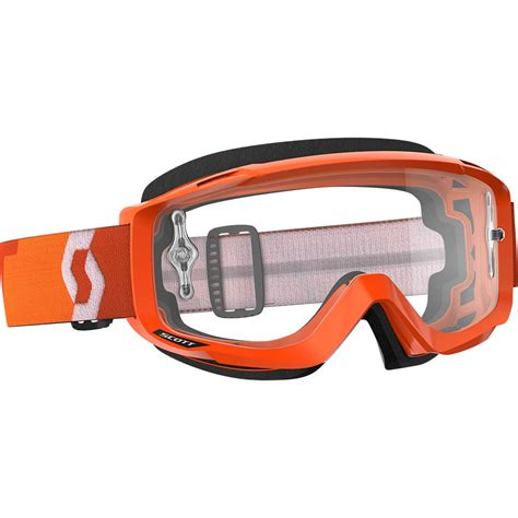 motocross goggles for glasses scott new mx otg over the glasses orange motocross