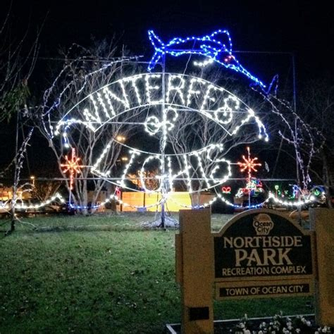 festival of lights ocean city md your favorite things to do in the winter oceancity com