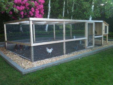 chicken coop and run chicken runs saltbox designs