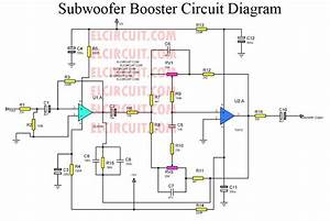 Subwoofer Booster Circuit With Pcb Layout